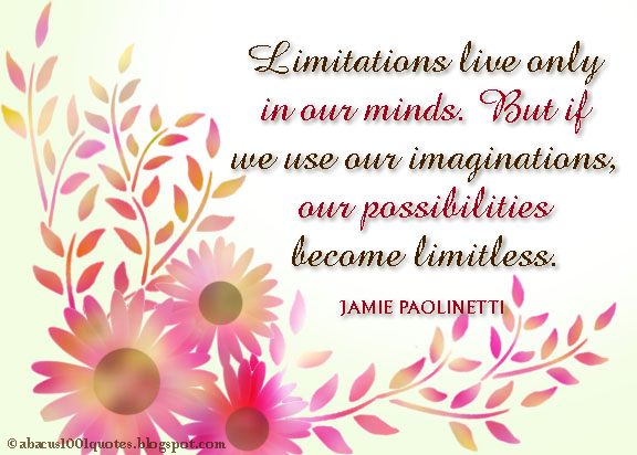 Limitations quote #2