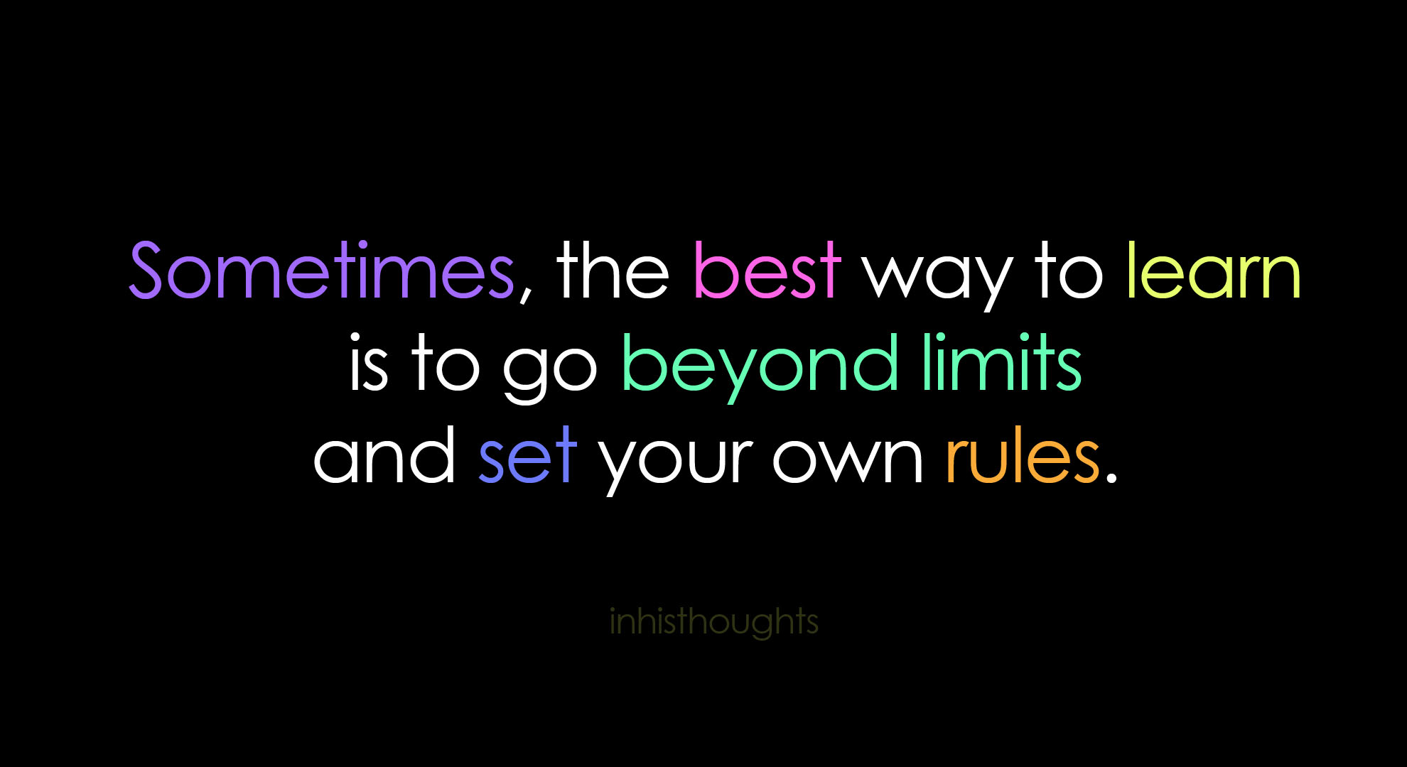 Limits quote #1