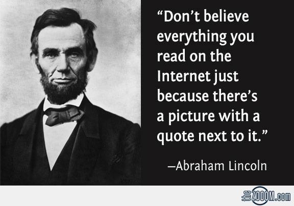 Lincoln quote #1
