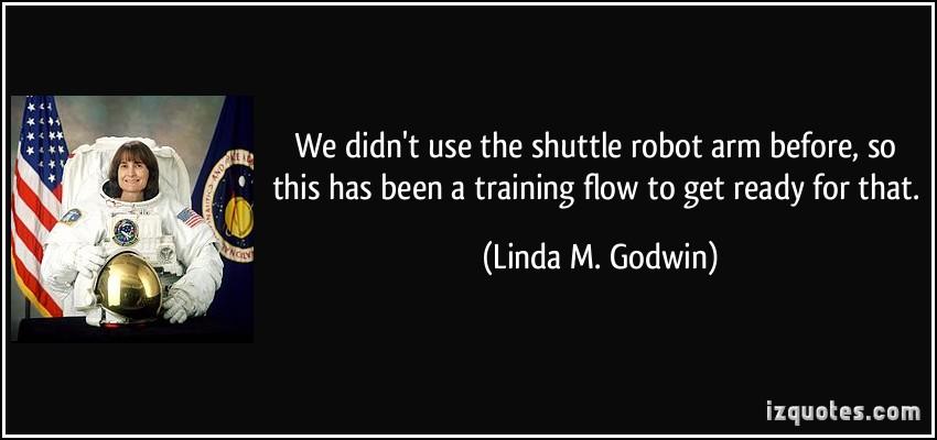 Linda M. Godwin's quote #7