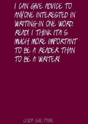 Linda Sue Park's quote #7