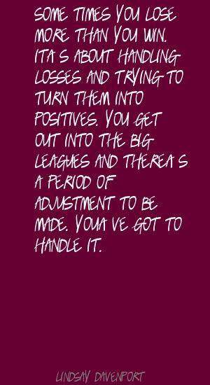 Lindsay Davenport's quote #6