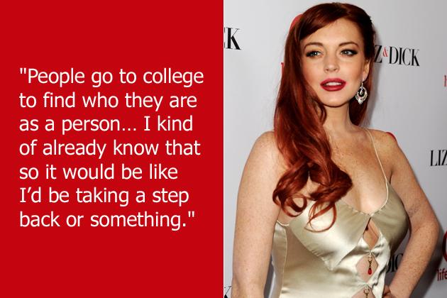 Lindsay Lohan quote #1