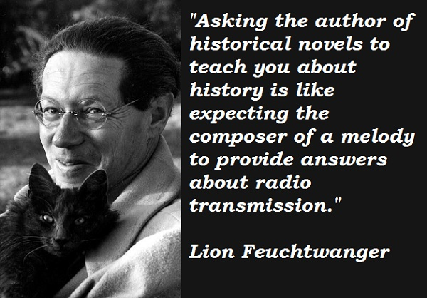 Lion Feuchtwanger's quote #5
