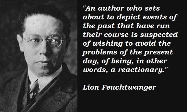 Lion Feuchtwanger's quote #4
