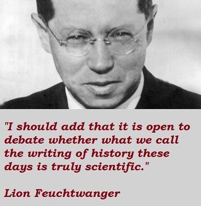 Lion Feuchtwanger's quote #6