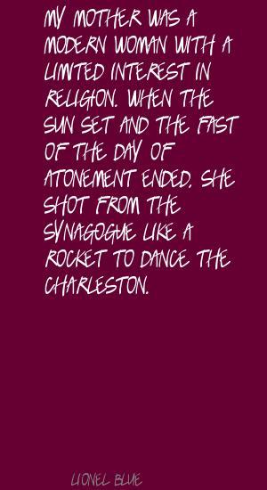 Lionel Blue's quote #2