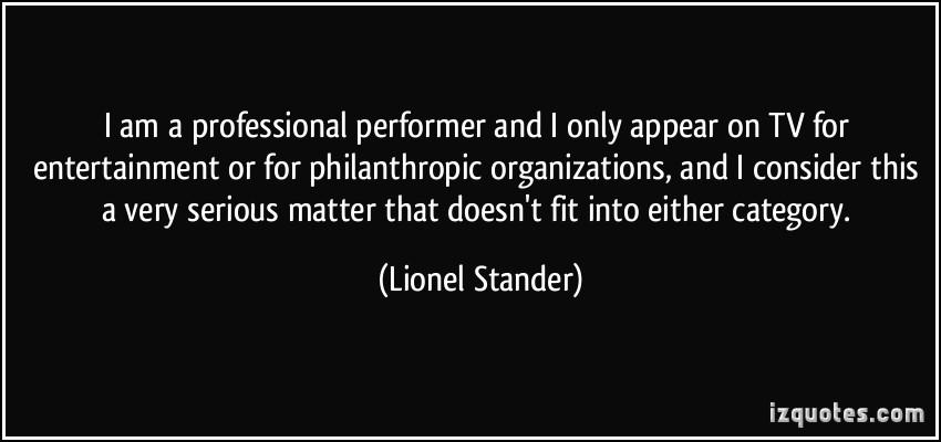 Lionel Stander's quote #1