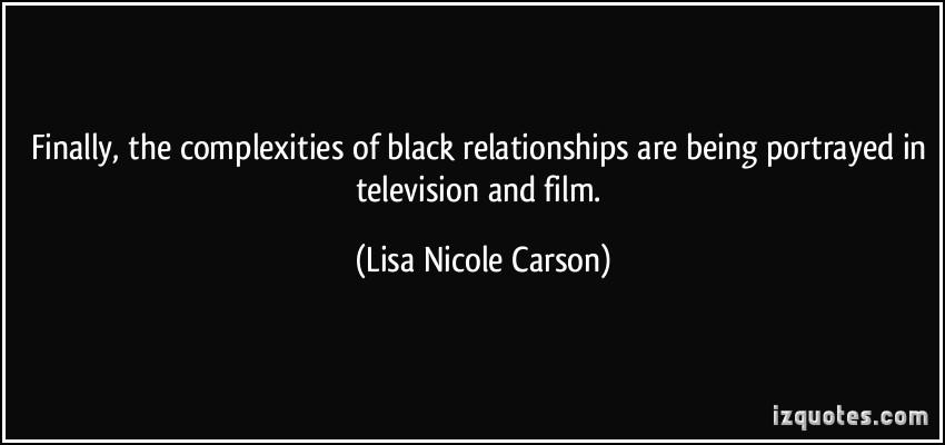 Lisa Nicole Carson's quote #1