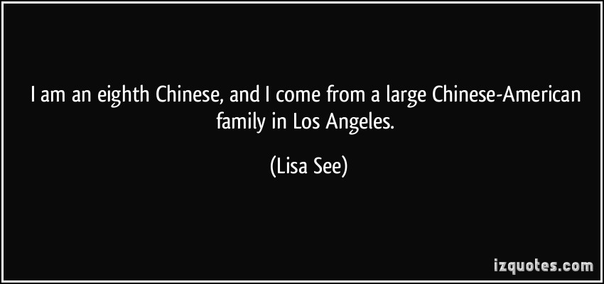 Lisa See's quote #1
