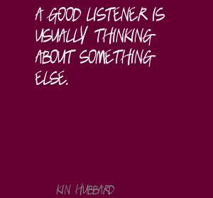 Listener quote #1