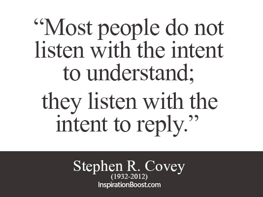 Listening quote #1