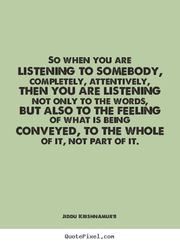 Listening quote #5