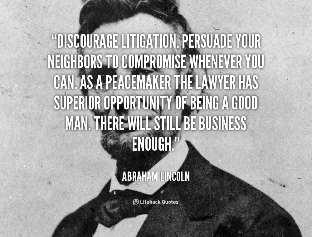 Litigation quote
