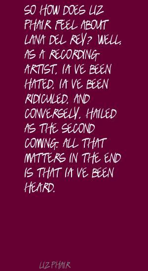 Liz Phair's quote #7