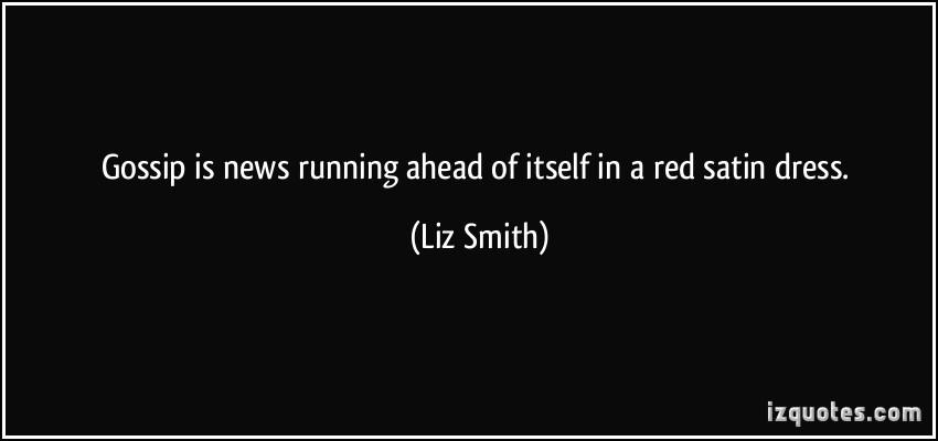 Liz Smith's quote #4
