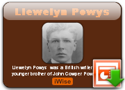 Llewelyn Powys's quote #1