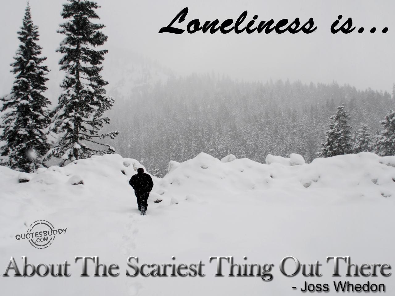 Loneliness quote #8