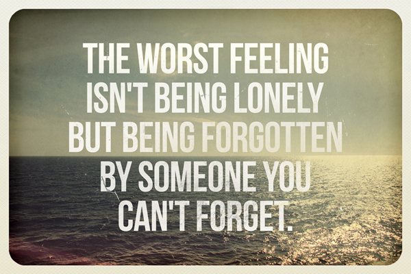Lonely quote #5