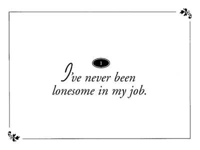 Lonesome quote #1