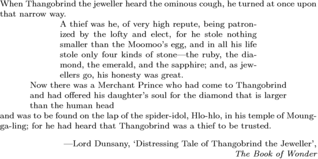 Lord Dunsany's quote #1