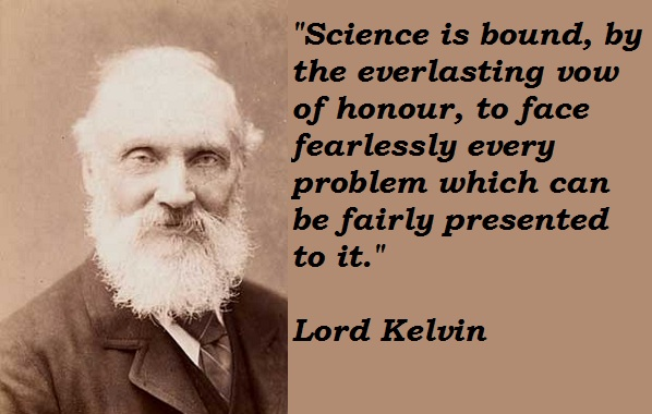 Lord Kelvin's quote #7