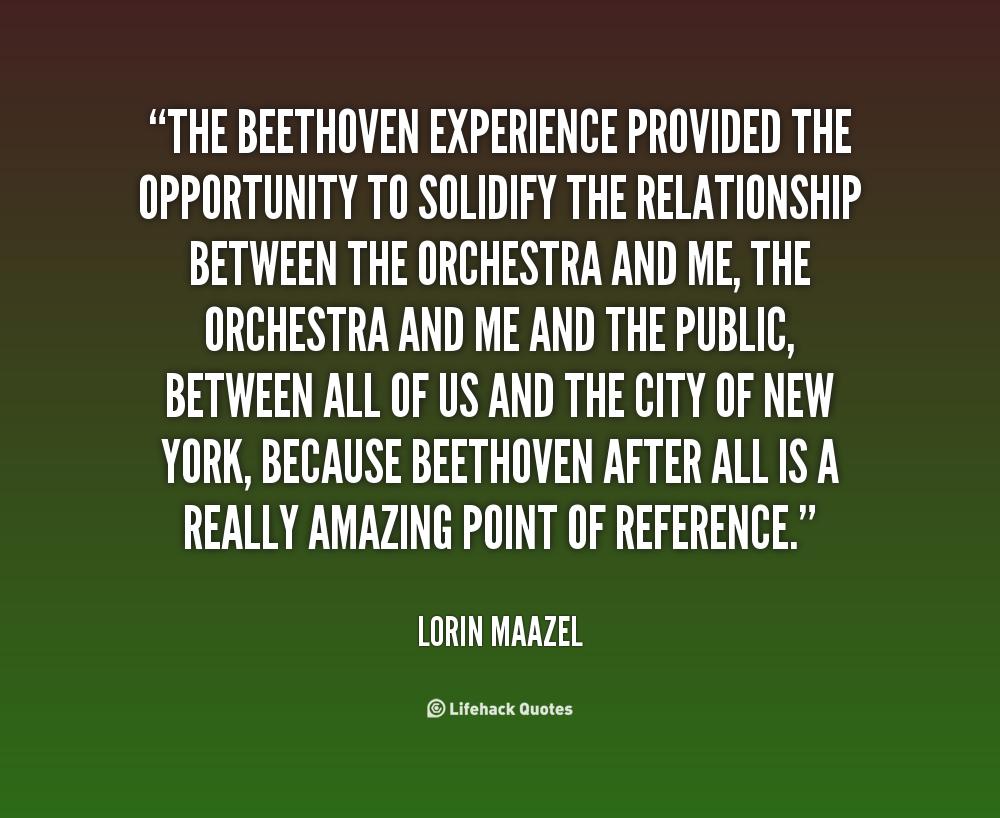 Lorin Maazel's quote