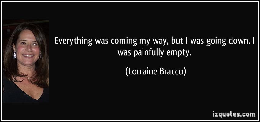Lorraine Bracco's quote #5