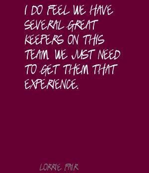 Lorrie Fair's quote #2