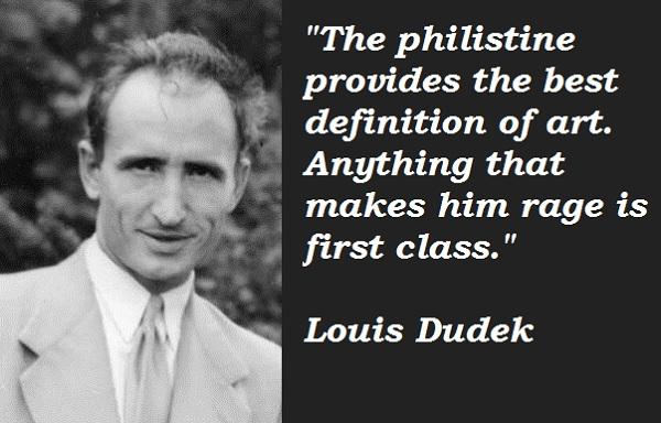 Louis Dudek's quote #2
