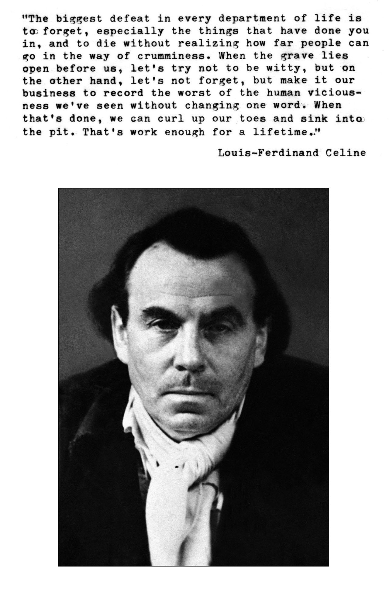 Louis-Ferdinand Celine's quote #1