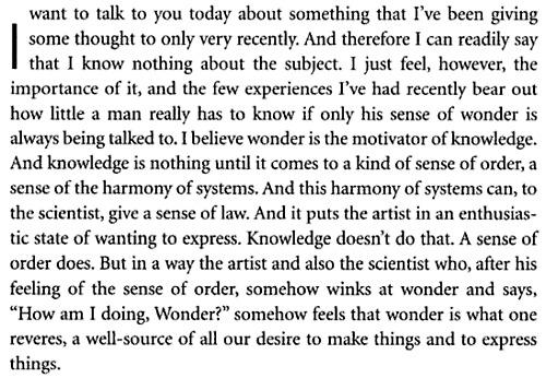 Louis Kahn's quote #7