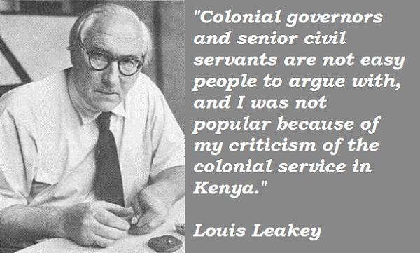 Louis Leakey's quote #4