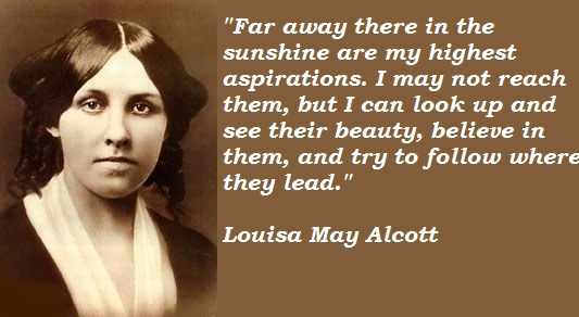 Louisa May Alcott's quote #4
