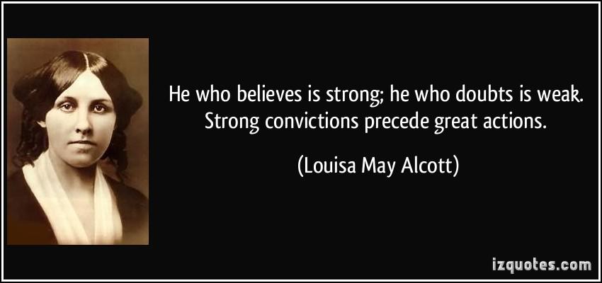 Louisa May Alcott's quote #3