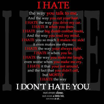 Love And Hate Quotes Custom Famous Quotes About 'love And Hate'  Sualci Quotes