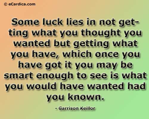 Luck quote #3