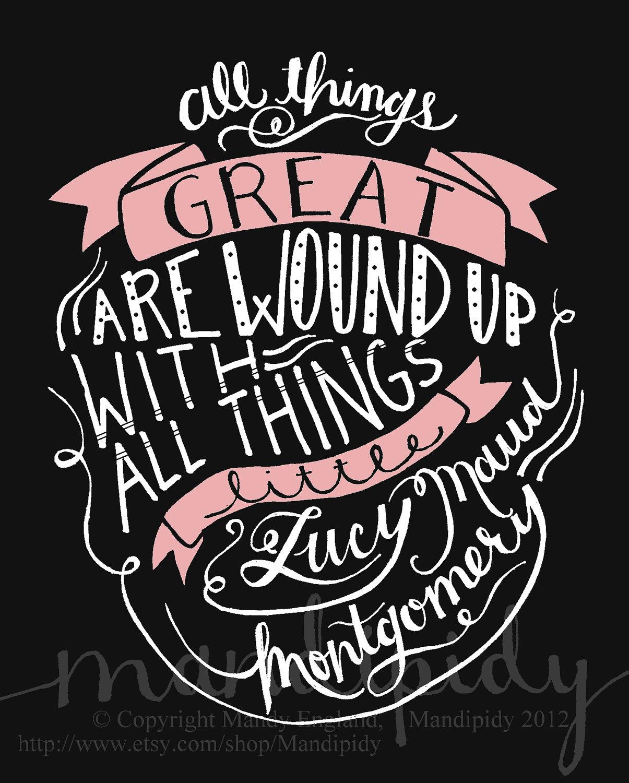 Lucy Maud Montgomery's quote #2