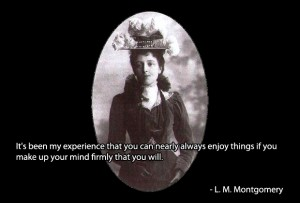 Lucy Maud Montgomery's quote #5