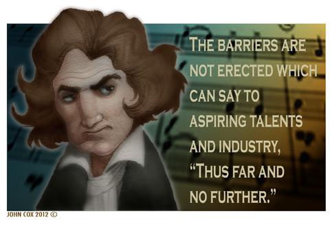 Ludwig van Beethoven's quote #4