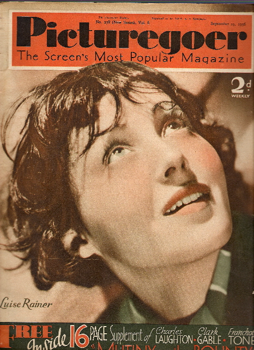 Luise Rainer's quote #1