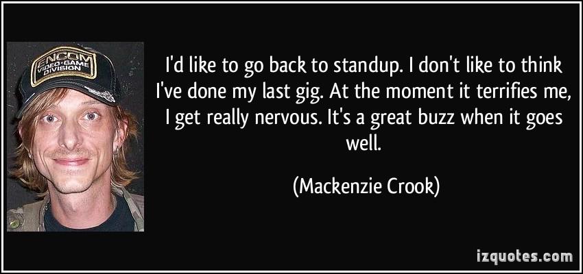 Mackenzie Crook's quote #1