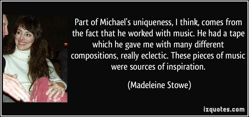 Madeleine Stowe's quote #1