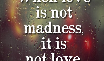 Madness quote #3