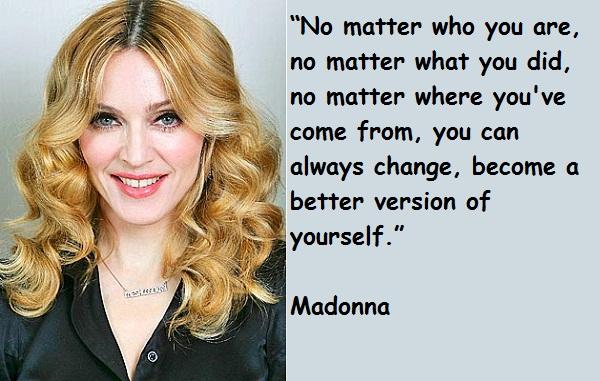 Madonna quote #2