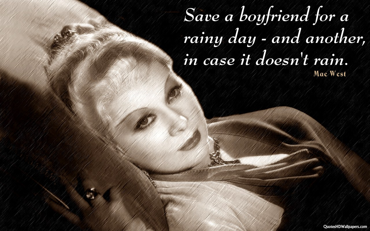 Mae West's quote #5
