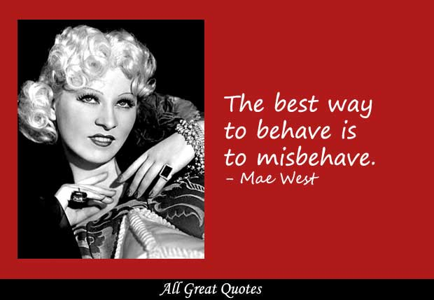 Mae West's quote #7