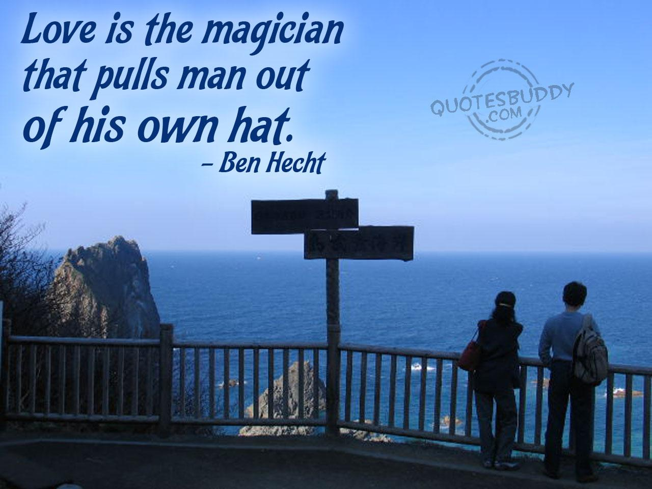 Magician quote #2