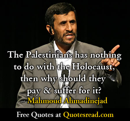 Mahmoud Ahmadinejad's quote #5