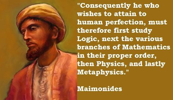 Maimonides's quote #4